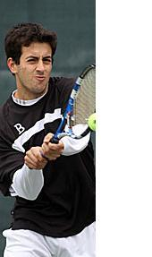 Stephen Sullivan College Tennis Star